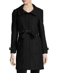 Burberry Brit - Gibbsmore Wool-blend Single-breasted Coat - Lyst