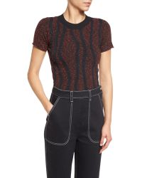 Creatures of the Wind - Soutache-appliqué Short-sleeve Sweater - Lyst