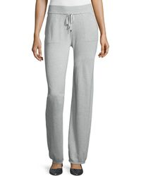 ESCADA - Mid-rise Drawstring-waist Pants - Lyst