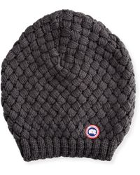 Canada Goose parka replica 2016 - Shop Women's Canada Goose Hats from $40 | Lyst