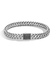 John Hardy - Men's Classic Chain Silver Jawan Flat Chain Bracelet - Lyst