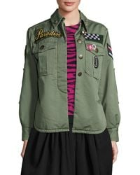 Marc Jacobs - Paradise-appliqué Military Jacket - Lyst