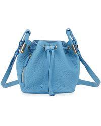 Time's Arrow - Lida Mini Leather Bucket Bag - Lyst