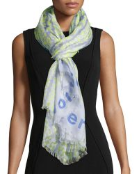 Proenza Schouler - Animal And Logo-print Scarf - Lyst