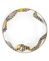 Mackenzie-Childs - Ribbon Thistle & Bee Dinner Plate - Lyst