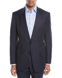 Tom Ford - Windsor Melange Striped Two-piece Wool Suit - Lyst