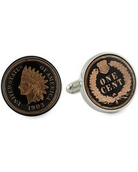 David Donahue - Indian Penny Cuff Link - Lyst