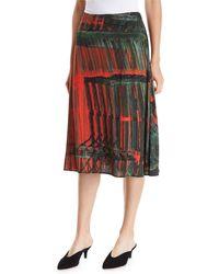Palmer//Harding - A-line Patterned Multi Skirt - Lyst
