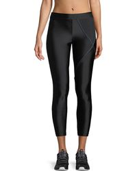 Koral Activewear - Knight Cropped Mid-rise Performance Leggings - Lyst