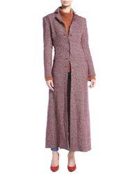 Brock Collection - Carolyn Tweed Duster Coat - Lyst