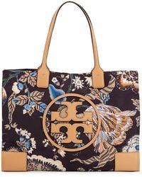 Tory Burch - Ella Printed Tote Bag - Lyst