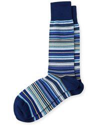 Paul Smith - Multicolored Fine Striped Socks - Lyst