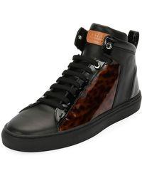 Bally - Men's Hedo Turtle High-top Sneakers - Lyst