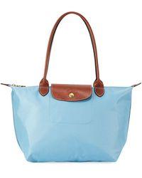 Longchamp - Le Pliage Medium Shoulder Tote Bag - Lyst