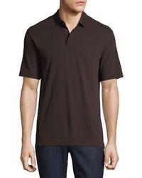 Z Zegna | Techmerino Wool Polo Shirt | Lyst