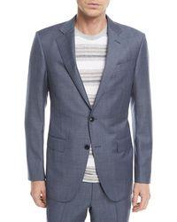 Ermenegildo Zegna - Melange Wool Two-piece Suit - Lyst