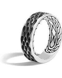 John Hardy - Men's Legends Naga Dragon Sterling Silver Band Ring - Lyst