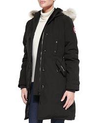 Canada Goose | Kensington Fur-hood Parka | Lyst