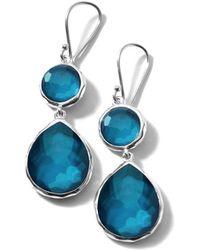 Ippolita Wonderland Mini Teardrop Snowman Earrings - Blue