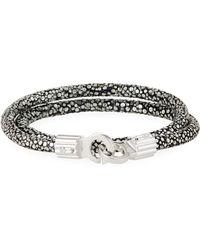 Brace Humanity - Men's Stingray Shagreen Wrap Bracelet - Lyst