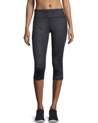 Varley | Wilcox Camo-print Capri Cropped Performance Tights | Lyst
