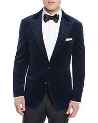 Brunello Cucinelli - Men's Velvet Tuxedo Jacket - Lyst