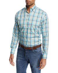 Peter Millar - Crown Ease Kohala Check Shirt - Lyst