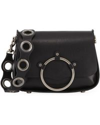 Rebecca Minkoff - Ring Smooth Leather Shoulder Bag - Lyst