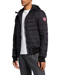018fe0c3811b Lyst - Canada Goose Cabri Down-quilted Hooded Jacket in Black for Men