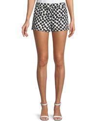 Trina Turk - Arbor Day Jacquard Short Shorts - Lyst
