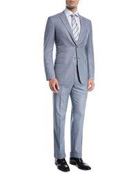 Brioni   Windowpane Wool Two-piece Suit   Lyst