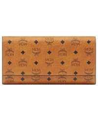 MCM - Color Visetos Large Tri-fold Wallet - Lyst