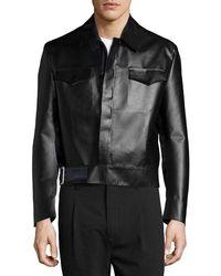 CoSTUME NATIONAL - Long-sleeve Sports Jacket - Lyst