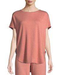 Natori - Zen Short-sleeve Caftan Top - Lyst