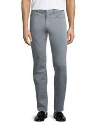 Emporio Armani   Basic 5-pocket Slim-straight Sateen Pants   Lyst