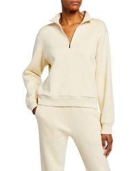 The Row Ashilee Zip-front Sweatshirt - White
