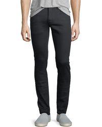 John Varvatos | Skinny Button-fly Jeans | Lyst