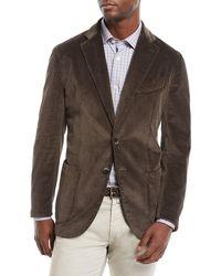 Neiman Marcus - Men's Corduroy 3-button Jacket - Lyst