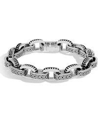 John Hardy - Men's Classic Chain Link Jawan Sterling Silver Bracelet - Lyst