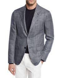 Ermenegildo Zegna - Men's Cashmere/silk Tic Sport Coat - Lyst