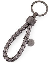 Bottega Veneta - Braided Loop Key Ring - Lyst