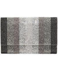Judith Leiber - Fizzoni Stripes Crystal Crossbody Bag - Lyst