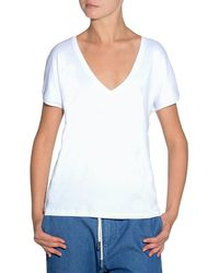 Eleventy | V-neck Cotton T-shirt | Lyst