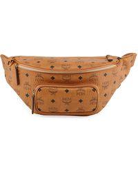 91dfc238e0e Lyst - MCM Medium Stark Belt Bag - in Brown for Men