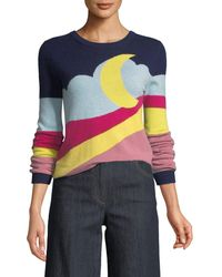 Boutique Moschino - Moon-print Pullover Sweater - Lyst