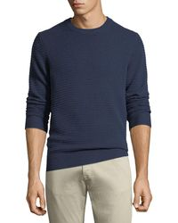 Neiman Marcus - Men's Ribbed Cashmere Pullover Sweater - Lyst