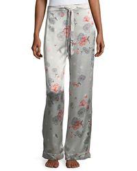 Meng | Floral-print Silk Pajama Pants | Lyst