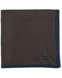 Ermenegildo Zegna - 3d Box Silk Pocket Square - Lyst