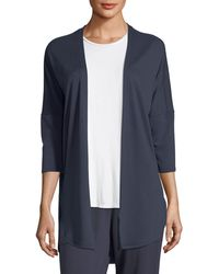Natori - Zen French Terry Lounge Cardigan - Lyst