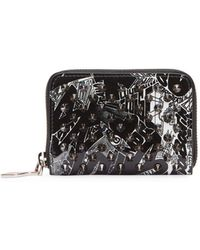 Christian Louboutin - Panettone Patent Nicograf Spikes Coin Purse - Lyst